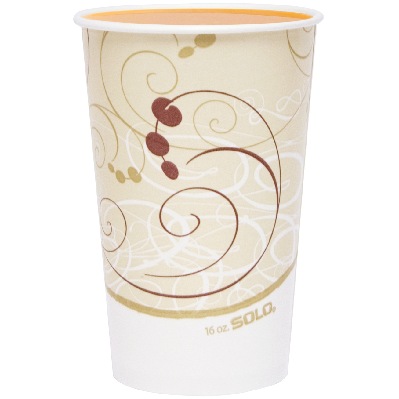 Cold beverage in Solo® DSP Paper cup