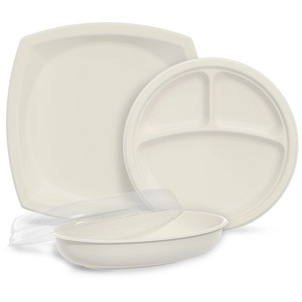 Bare® by Solo® Eco-Forward® Sugarcane (Bagasse) Dinnerware