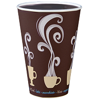 Hot coffee in ThermoGuard® cup
