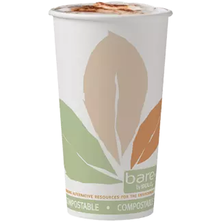 Hot beverage in Bare® by Solo® cup