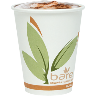 Hot drink in Bare® by Solo® cup
