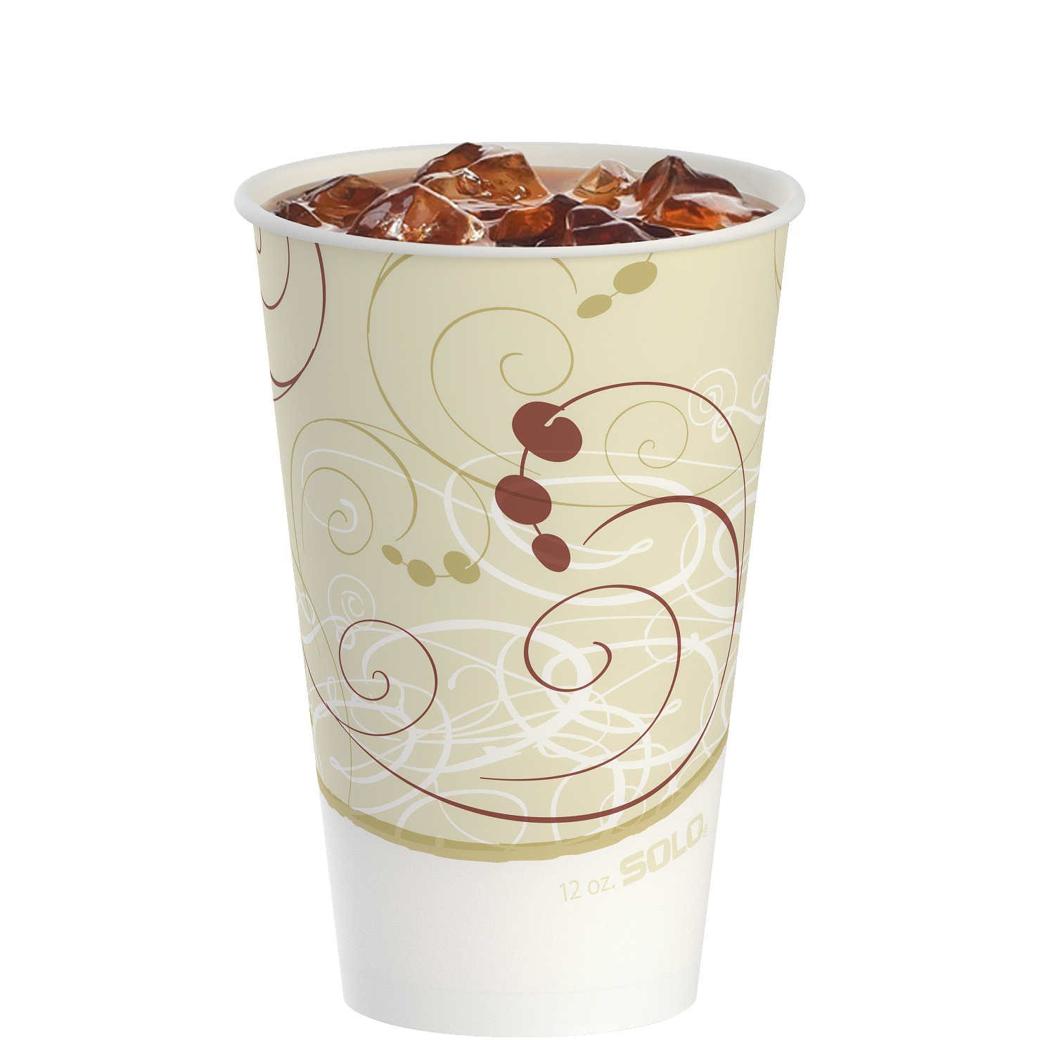 Solo® Grease-Resistant Paper Munchie Cup® Containers