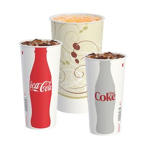Solo® DSP (Double Sided Poly) Paper Cold Cups