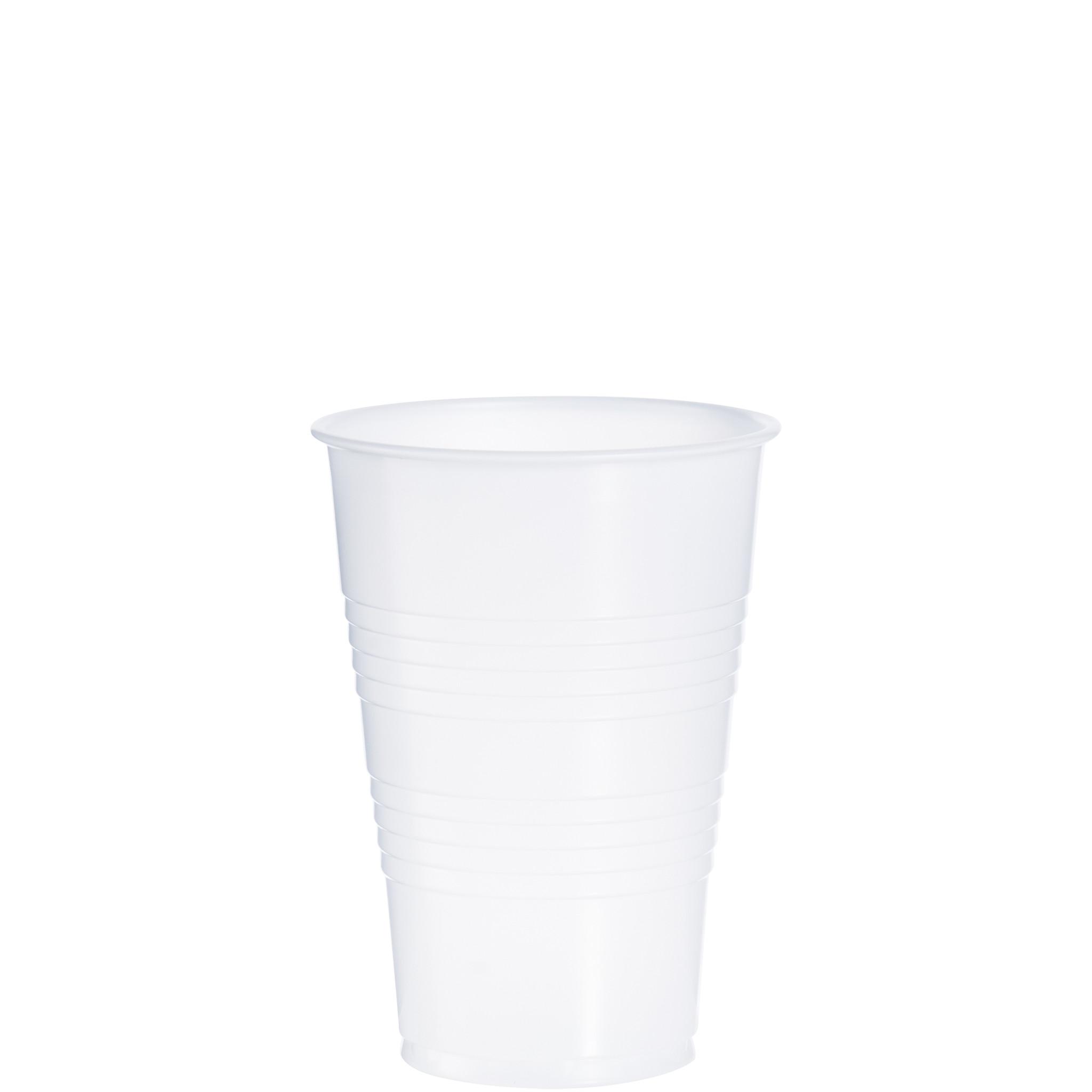 CUP Y16T TRANSLUCENT PLASTIC 16 OZ 1000/CASE